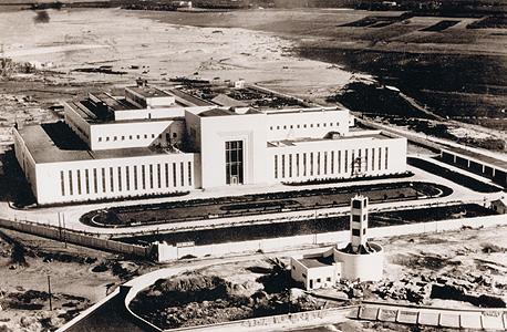 תחנת הכוח רדינג ב- 1940, שנתיים אחרי השלמתה (צילום היסטורי)