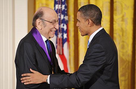 מילטון גלייזר ברק אובמה מוסף באז באזז, צילום: איי אף פי