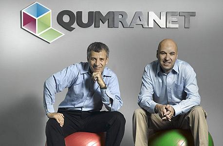מימין: רמי תמיר ובני שניידר, מייסדי קומראנט