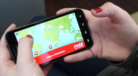 הקמפיין הדיגיטלי של קוקה קולה