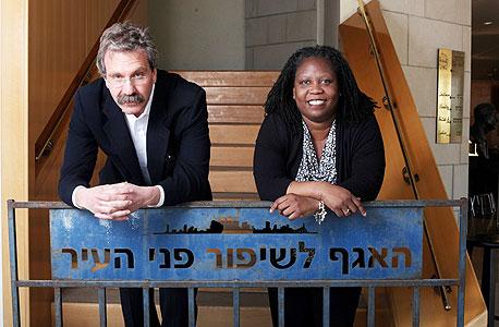 """קורניגיי וקורטיס. """"הישראלים רוצים שמחר יהיה פתרון, אבל זה לוקח המון זמן"""""""