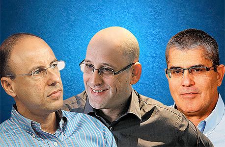 חיים רומנו ניר שטרן גיל שרון, צילום: אוראל כהן