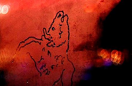 """עבודה של אורי גרשט מאוסף סבג. """"חשוב לי להציג אמנים מקומיים לצד אמנים בינלאומיים"""""""