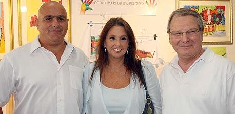 שרי אריסון ודני דנקנר, צילום: סיון פרג