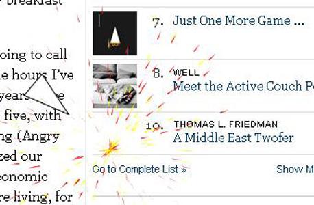 לא אוהבים את הטור של תומס פרידמן? יש פתרון!, צילום מסך: nytimes.com