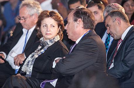 יהודית יובל רקנאטי בכנס הוקרה לאבי נאור