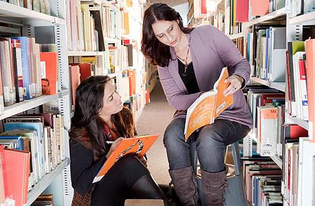 ספריה באוניברסיטת בן גוריון, אחת מלקוחות אקס ליבריס, צילום: דני מכליס