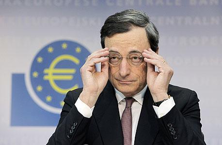 מריו דרגי דראגי נגיד הבנק המרכזי האירופי