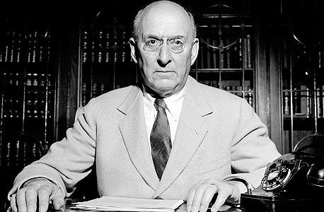 שר האוצר האמריקאי היהודי הנרי מורגנתאו