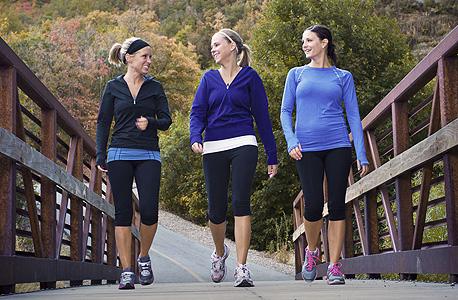 הליכה לא מוכרחה להיות ספורטיבית