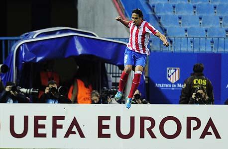 פאלקאו. האם הוא היה עובר לאתלטיקו מדריד מפורטו ללא ההצלחה שלו בשנה שעברה בליגת אירופה?
