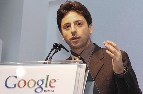 סרגיי ברין מייסד גוגל, צילום: בלומברג