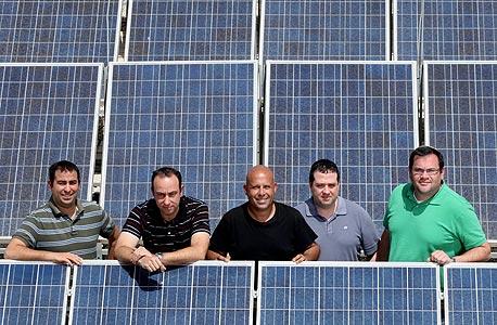 SolarEdge's founding team. Photo: Amit Sha'al