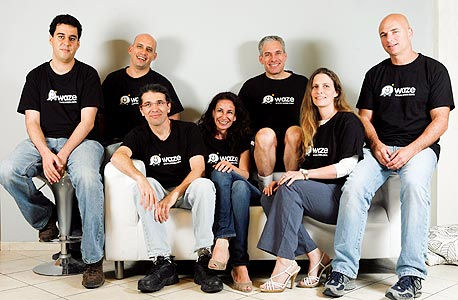 צוות הבכירים של Waze
