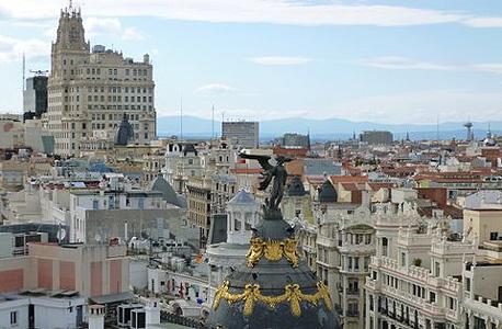 מדריד. רוב מתקני הספורט כבר בנויים, צילום: ענת גרנית-הכהן
