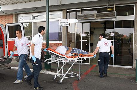 חדר מיון בבית חולים ברזילי אשקלון, צילום: גדי קבלו