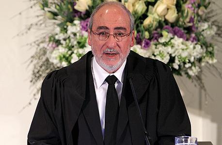 נשיא בית המשפט העליון אשר גרוניס. פסק דין קצר של שני עמודים