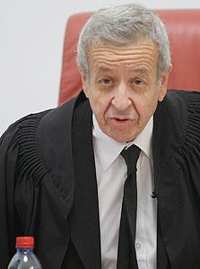 השופט אליעזר ריבלין, צילום: אלכס קולומויסקי