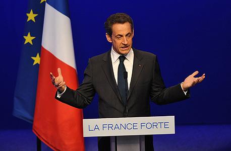 נשיא צרפת לשעבר ניקולא סרקוזי