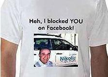 החולצה שהפיצו הגולשים נגד אנדרו ניקוליץ