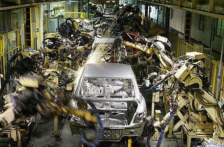 מפעל יונדאי באסאן שבדרום קוריאה