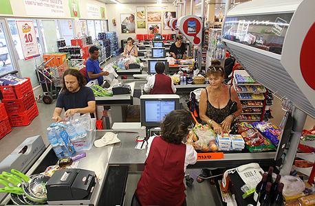 ירידה של 18% בהוצאות על מזון