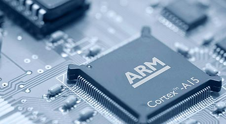 ARM chip. Photo: Bloomberg