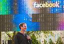 צוקרברג בהנפקת פייסבוק, צילום מסך: Facebook
