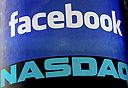 """פייסבוק בנאסד""""ק, צילום: איי אף פי"""