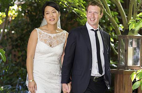 מארק צוקרברג ואשתו פריסיליה צ'אן