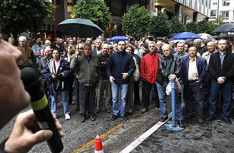 הפגנות ביוון, צילום: רויטרס