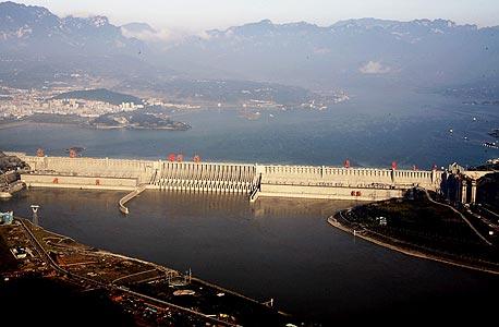 אחד הסכרים בסין, צילום: איי אף פי