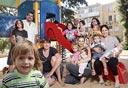 """תושבי מתחם בי""""ח שיבא. צילום: אוראל כהן , צילום: אוראל כהן"""