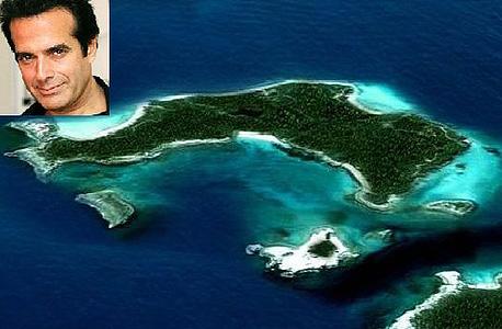 אי פרטי של דיוויד קופרפילד ב-Musha Cay Islands