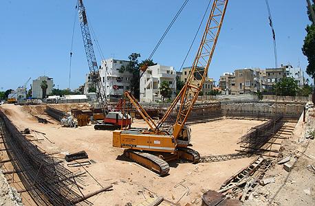 בנייה בדרום תל אביב. שיאנית במספר הדירות החסרות ב-2011