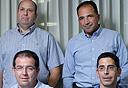 מנהלי חברות המסחור שהשתתפו בפאנל, צילום: עמית שעל