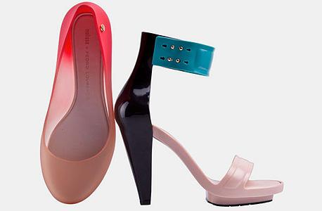 נעלי מליסה. שיתוף פעולה עם  פדרו לאורנסו