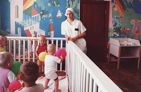 ויקה. נשפטה על רצח. כלא לנשים עם ילדים, אוקראינה, 2010, צילום:  מיכל חלבין