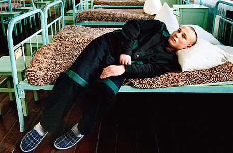 סטס. נשפט על רצח. כלא לעבריינים צעירים, רוסיה, 2009, צילום: מיכל חלבין