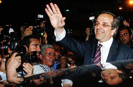 """מנהיג מפלגת """"דמוקרטיה חדשה"""" אנטוניס סמאראס. שורה של מועדים מאיימים"""