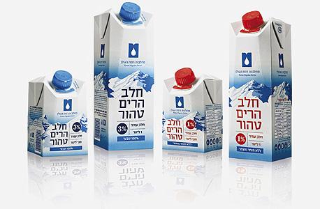 חלב של מחלבות רמת הגולן