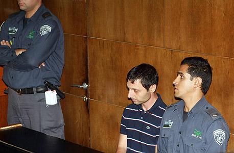 ערן מזרחי בבית המשפט, צילום: יריב כץ