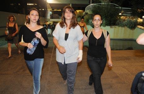 מגיעים להפגין, צילום: ירון ברנר, ynet
