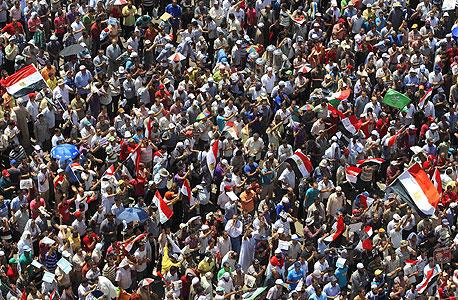הפגנה בכיכר תחריר בקהיר