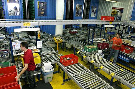 קו ייצור במפעל ישקר בתפן
