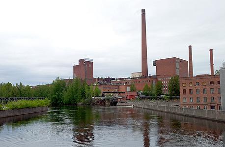 המפעל ההיסטורי של החברה בעיירה נוקיה