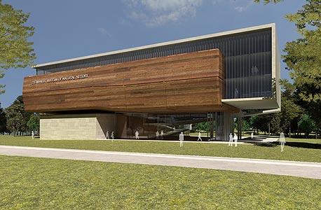הדמיית המוזיאון בתכנון קימל אשכולות. הבנייה כבר החלה
