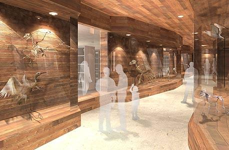 """הדמיות של המוזיאון. איתן קימל: """"מוזיאון זה חלל, תנועה ואור; אסור לקטוע בו את הזרימה. לכן ייצרנו תנועה ברמפות"""""""