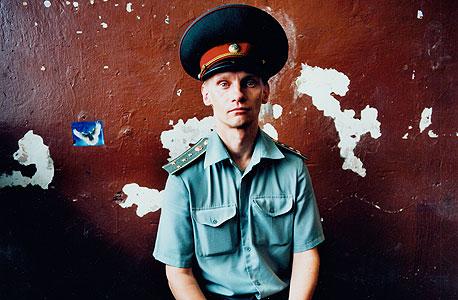 ויקטור. כלא גברים, אוקראינה, 2010, צילום: מיכל חלבין