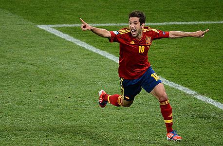 """מח""""מ דפנסיבי. ג'ורדי אלבה מגן נבחרת ספרד"""